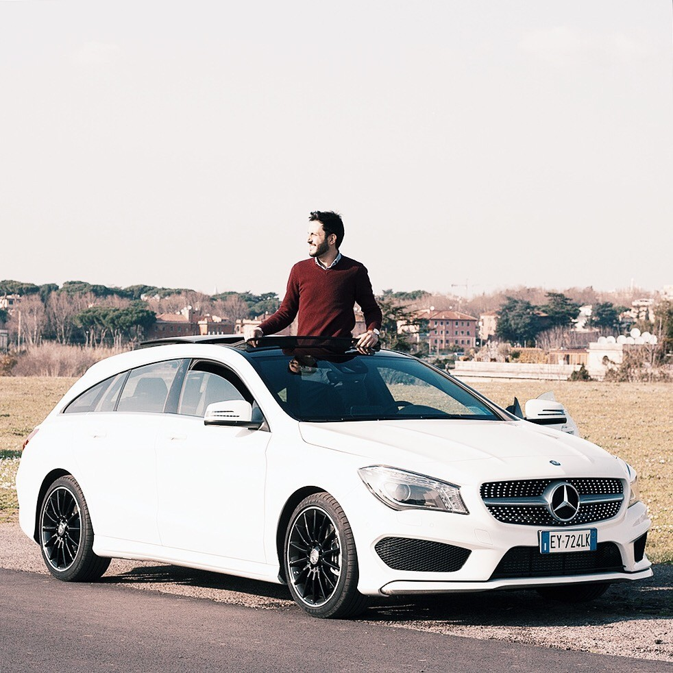 Collaborazione Cla Shooting Brake Mercedes Benz Italia