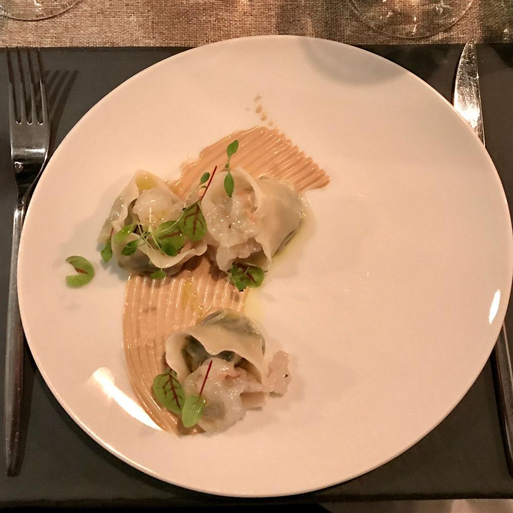 Ravioli di borragine - Filodolio ristorante roma