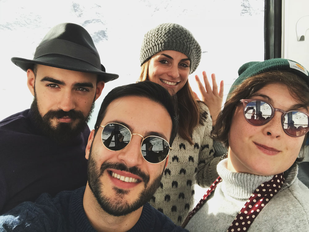 Foto gruppo tour valtellina