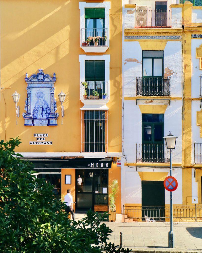 Il quartiere di Triana a Siviglia