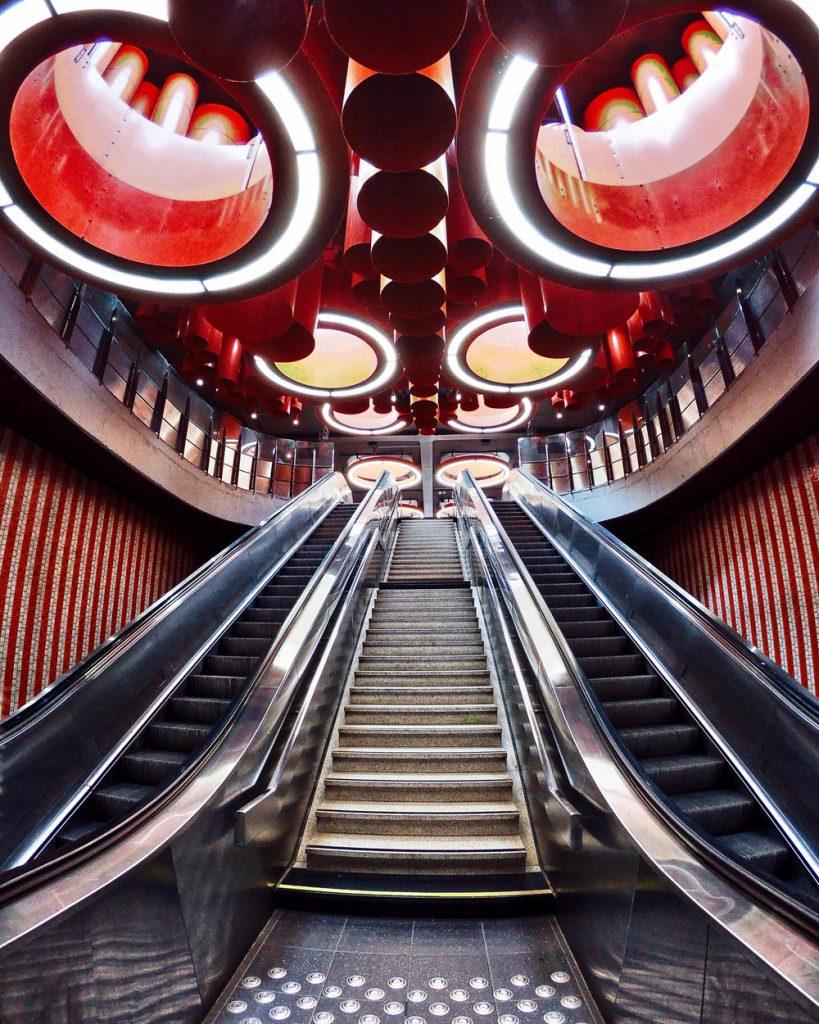 Pennenhius Metro Station Bruxelles