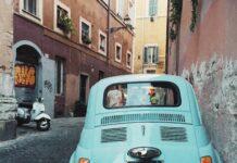 Fiat 500 e Vespe d'epoca pubblicate su Instagram