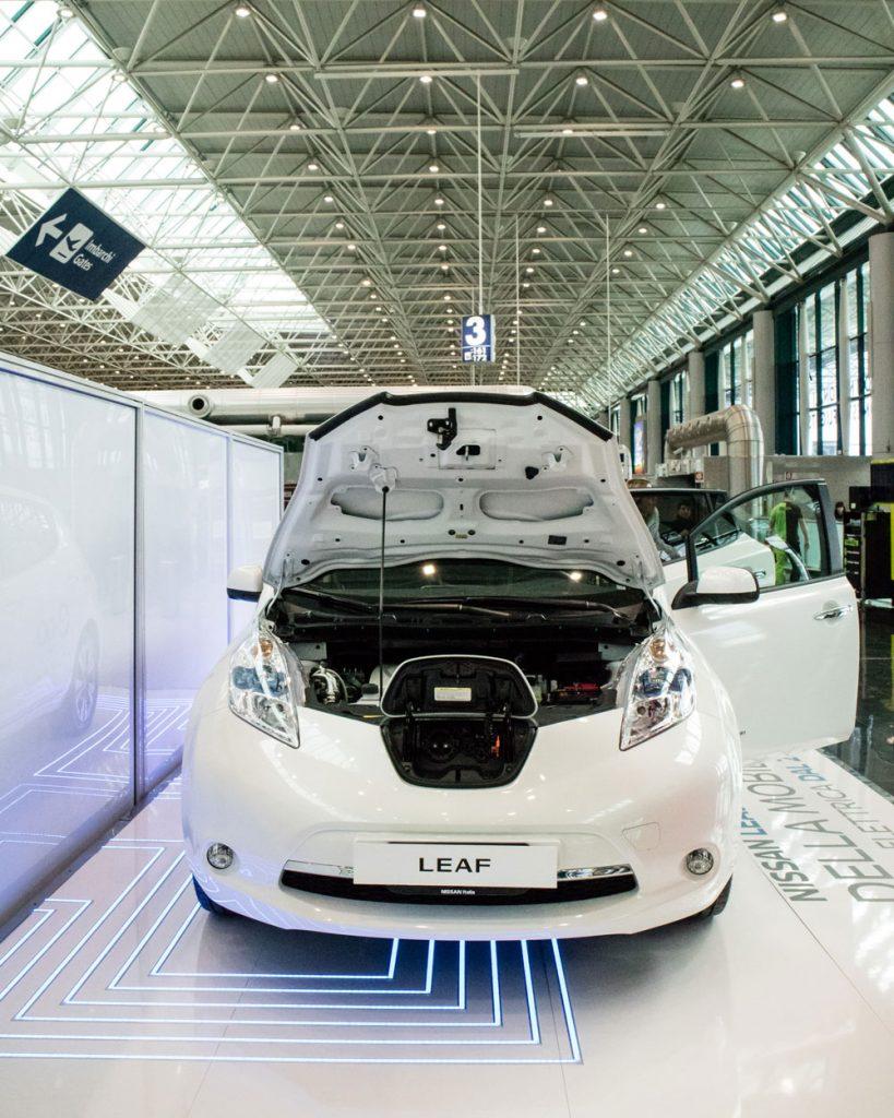 Nissan Leaf Fronte