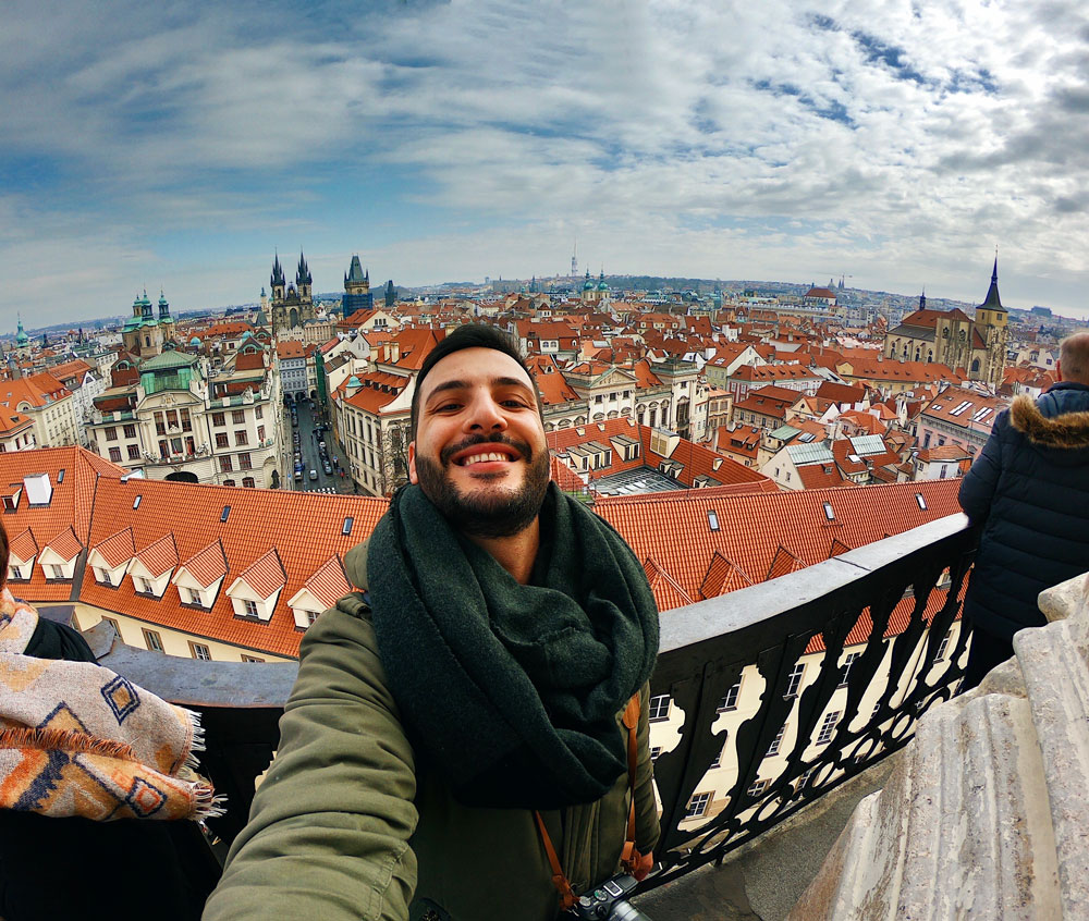Vista Panoramica dal Clementinum Praga