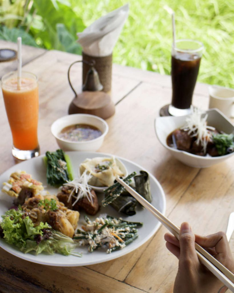 Cafe Pomegranate Ubud Bali