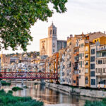 Girona fiume Onyar Case pendenti