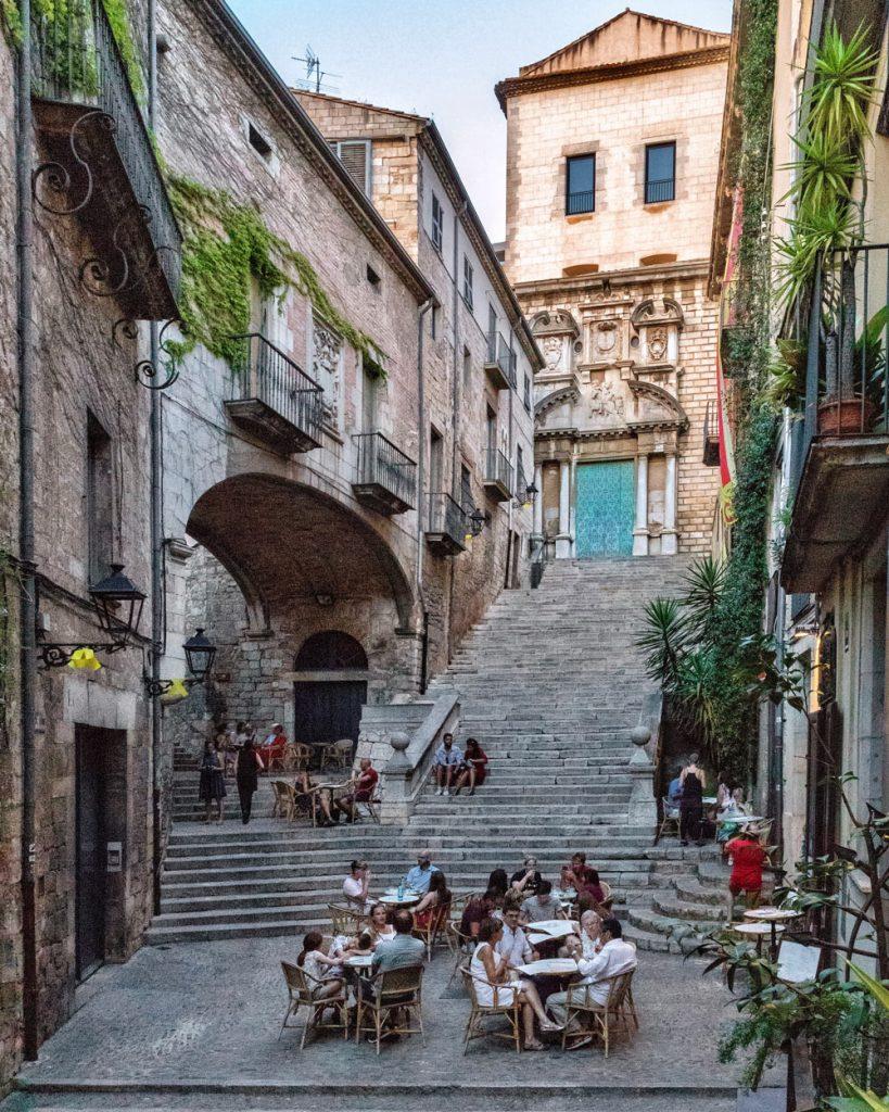 Girona centro il ghetto