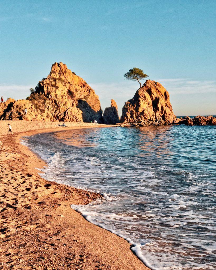 Spiagge a tossa de Mar