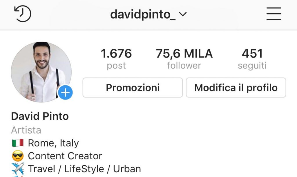 Instagram Stories carica video o foto dal rullino