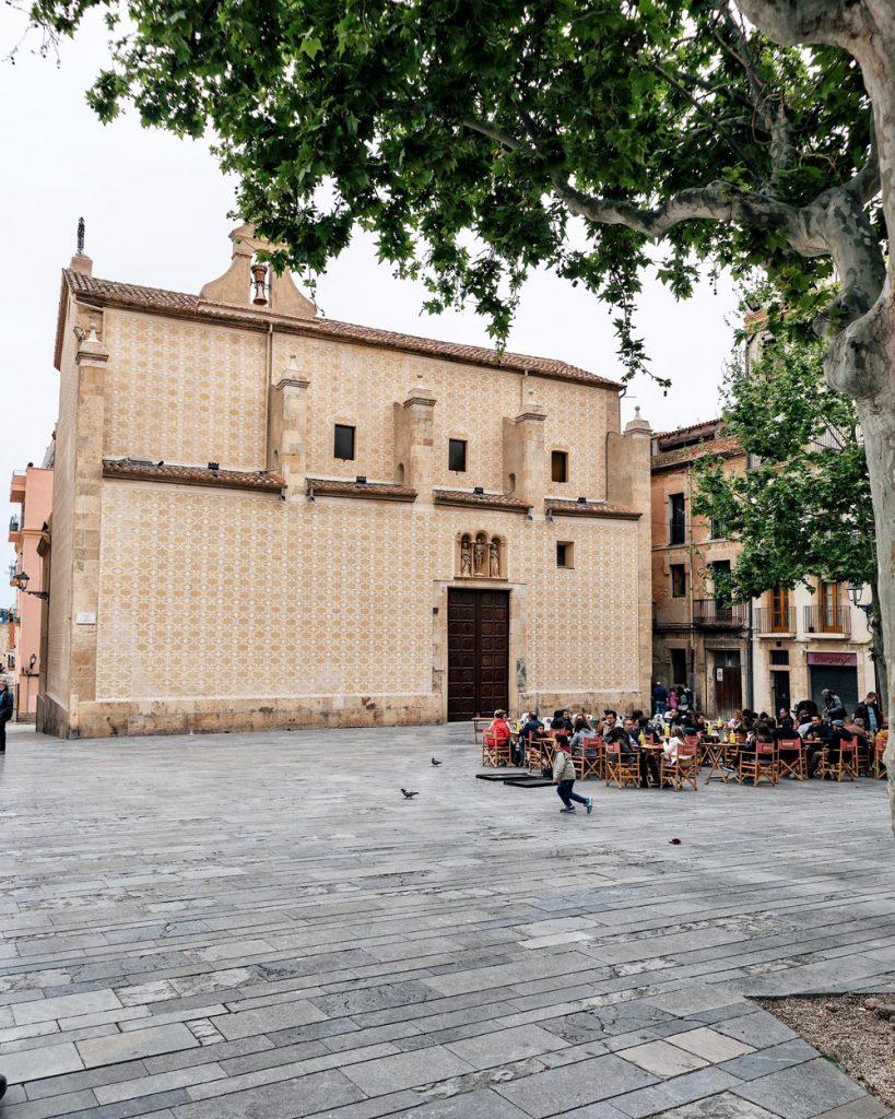 Plaça del Rei a Tarragona