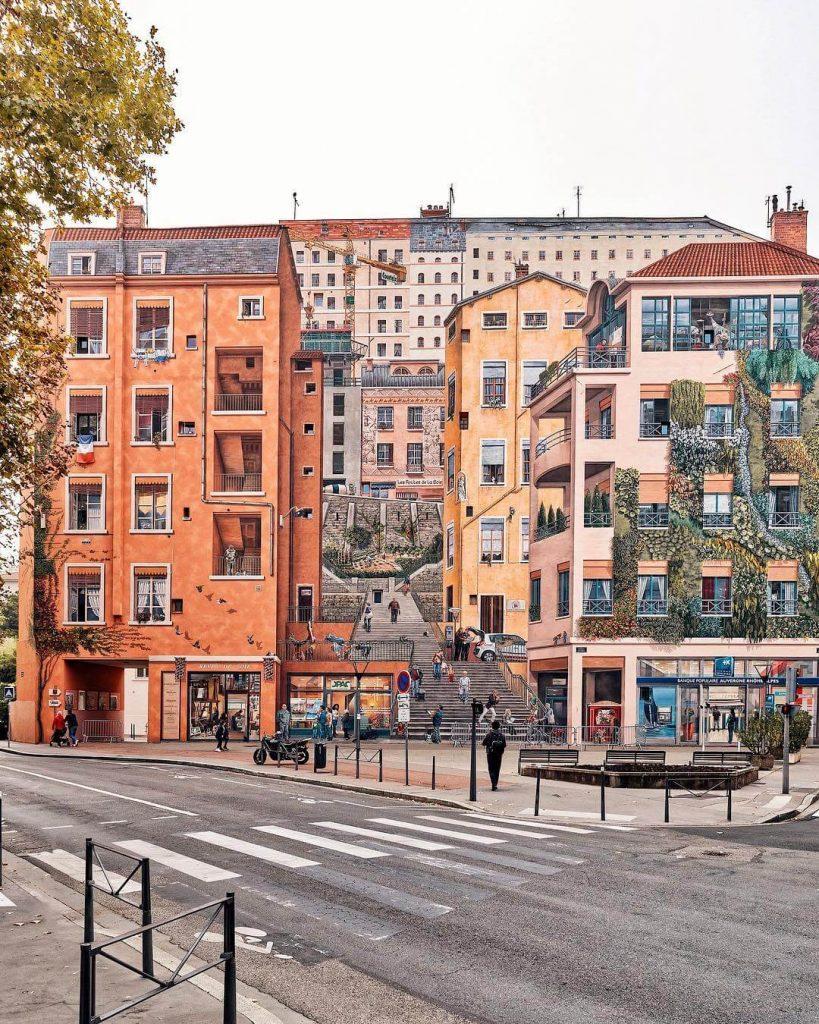 Mur Des Canuts Lyon