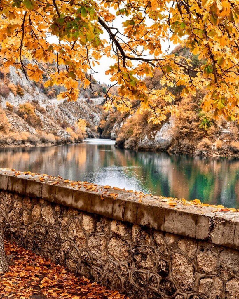 Autunno al Lago di San Domenico