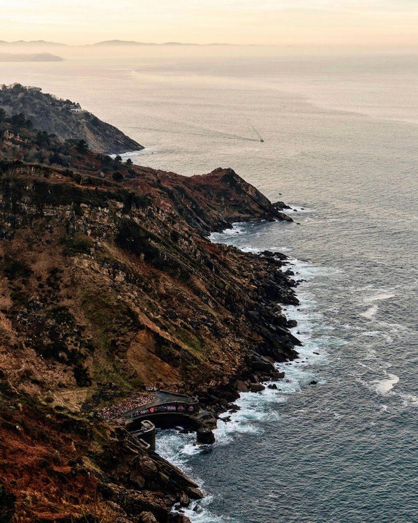 Vista dal Monte Igueldo
