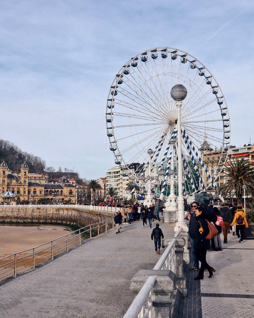 San Sebastián cosa vedere