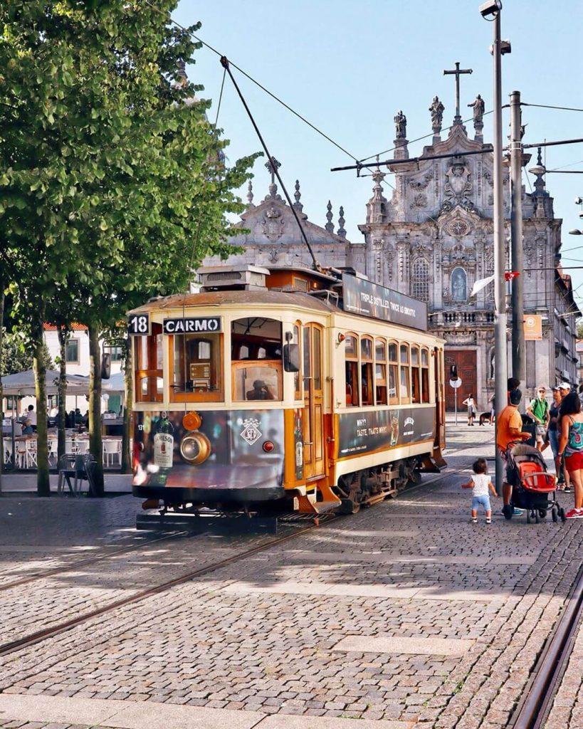 Porto Centro storico Tram