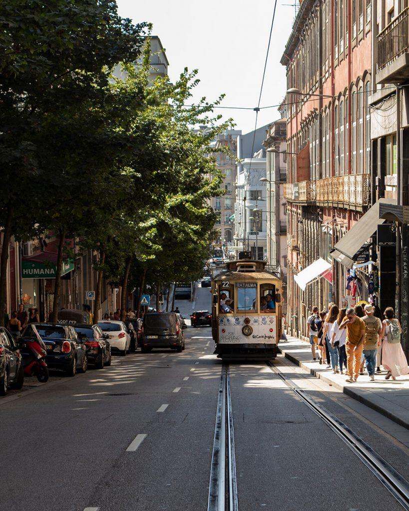 Tram a Porto
